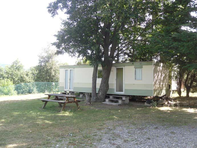 Location de Mobil-homes Camping Le Cortsavi