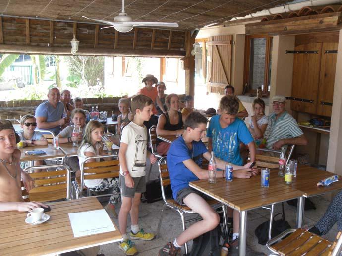 Terrasse Restaurant du camping le Cortsavi